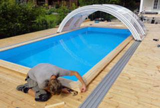 Pool installations and patios